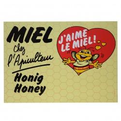 Panneau 'MIEL' 50x40