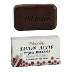 Savon Actif Propolis/Miel 100 Gr