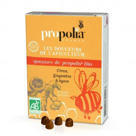 Gommes Propolis Gingembre & Citron Bio