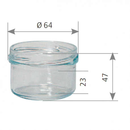 Verrine Verre 120 Ml (x12)