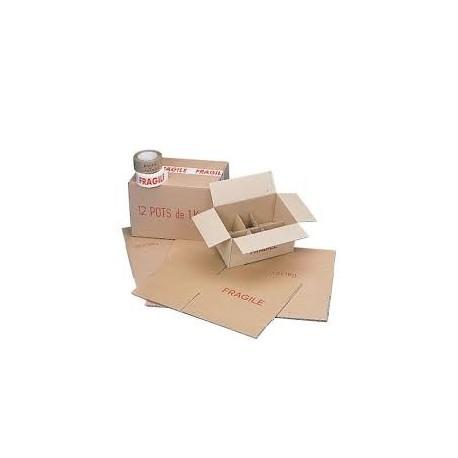 Carton 12 Verres 500G To82 (x20)