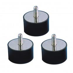 Plots Anti-Vibration Pour Extracteur (x 3)