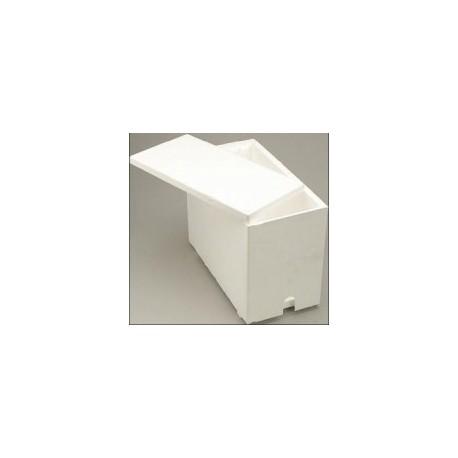 Ruchette Polystyrène Dadant 6C Blanche
