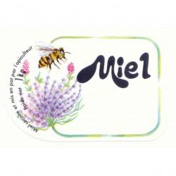 Etiquette Miel 1 Kg (x100)