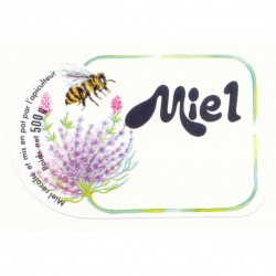 Etiquette Miel 500 Gr (x100)