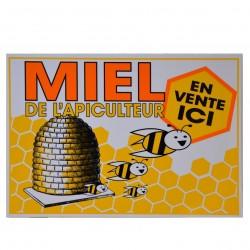 Panneau 'MIEL' 35x25