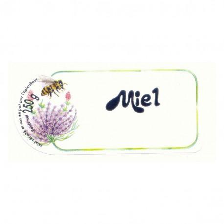 Etiquette Miel 250 Gr (x100)