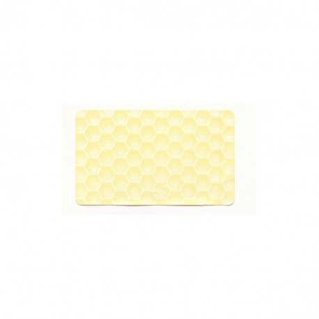 Etiquette Gaufrée Paille 30x50 (x100)