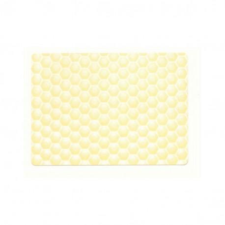 Etiquette Gaufrée Paille 50x70 (x100)
