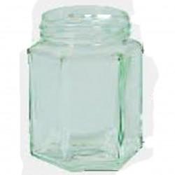 Pots Verre Hexagonal 390Ml 500G (x20)