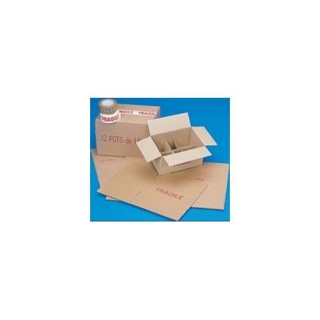 Carton 12 Verres 250G To63