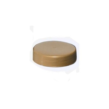 Capsule To63 Plastique Or (x100)