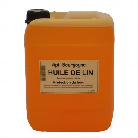Huile De Lin Bidon De 5 L