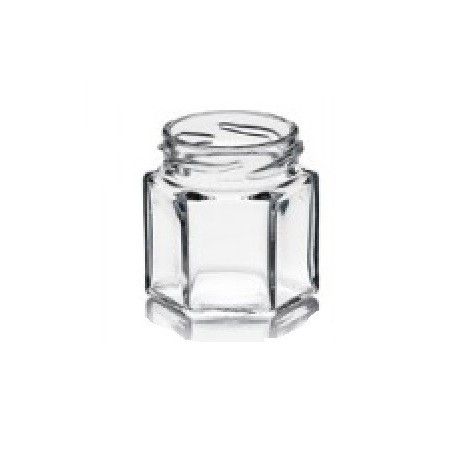 Pots Verre Hexagonal 47Ml 50G (x20)