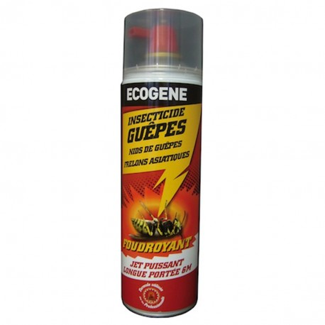 Insecticide Guepes et Frelons 500ml